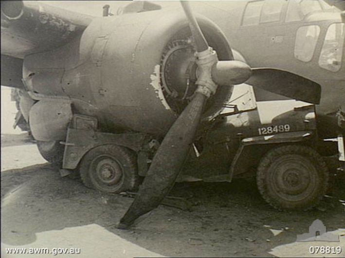 17 best images about jeep willys old jeep rat rods a badly smashed n army jeep under the starboard engine of a bristol beaufort bomber operated by no 100 squadron raaf tadji new