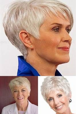 short hairstyles for women over 60 fine hair  bing images