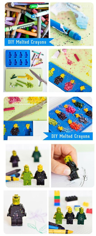 DIY Melted Crayons