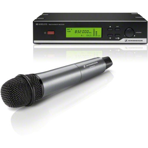 Sennheiser XSW 35-A XS Wireless Vocal Set - SKM 35 Transmitter and EM 10 Receiver -