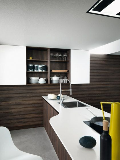 Fitted kitchens   Kitchen systems   Cloe   Composition 5   Cesar. Check it out on Architonic