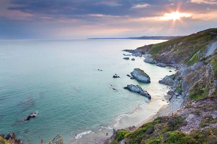 Freathy beach, Whitsand Bay in East Cornwall.