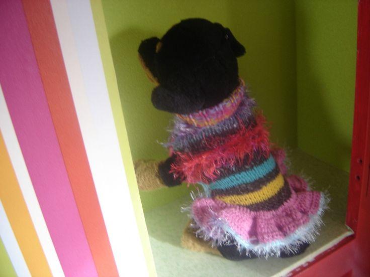 Pull robe 22cm pour trés petite chienne série LOLITA : Autres accessoires par jodestyl