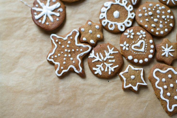 christmas cookies, gingerbread