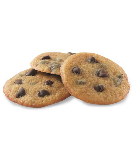 Chewy Chocolate Chip Cookies by Truvia. Ingredients: butter, Truvia, molasses, vanilla, egg, salt, baking soda, flour, chocolate chips