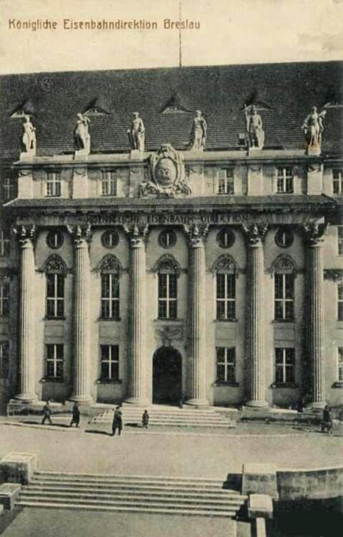 Breslau 1920er Koenigliche Eisenbahndirektion