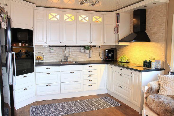 Ikea kitchen grytn s google suche k chen pinterest - Cuisine ikea blanche et bois ...