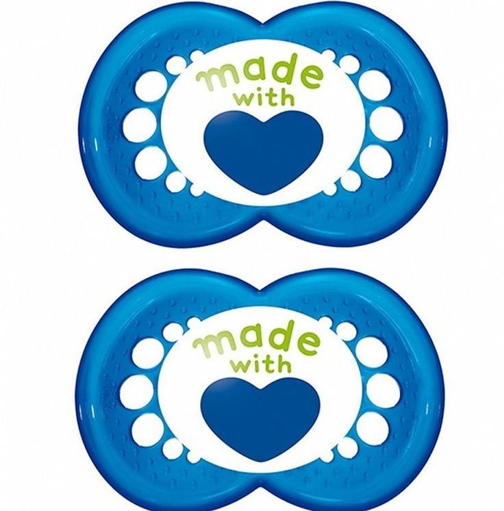 """MAM """"TRENDS"""" 2x Dummy Pacifier Soother,"""