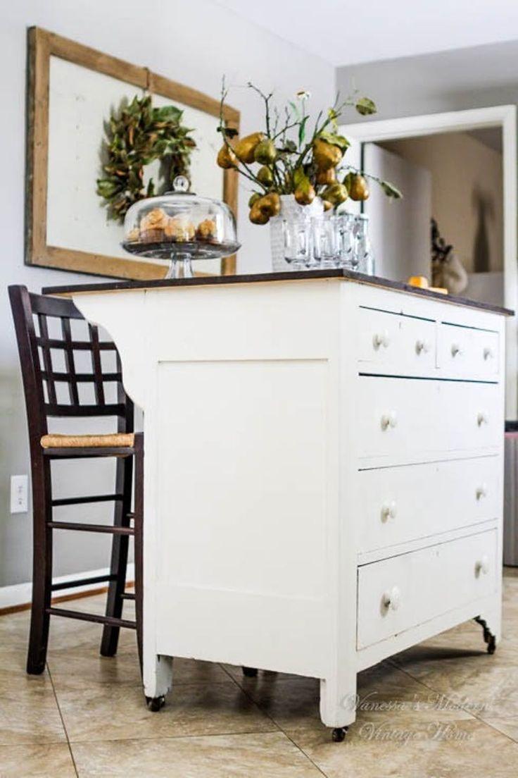 Make It Your Style  Kitchen Island Alternatives Using Repurposed Pieces. 17 best ideas about Dresser Alternative on Pinterest   Curtain