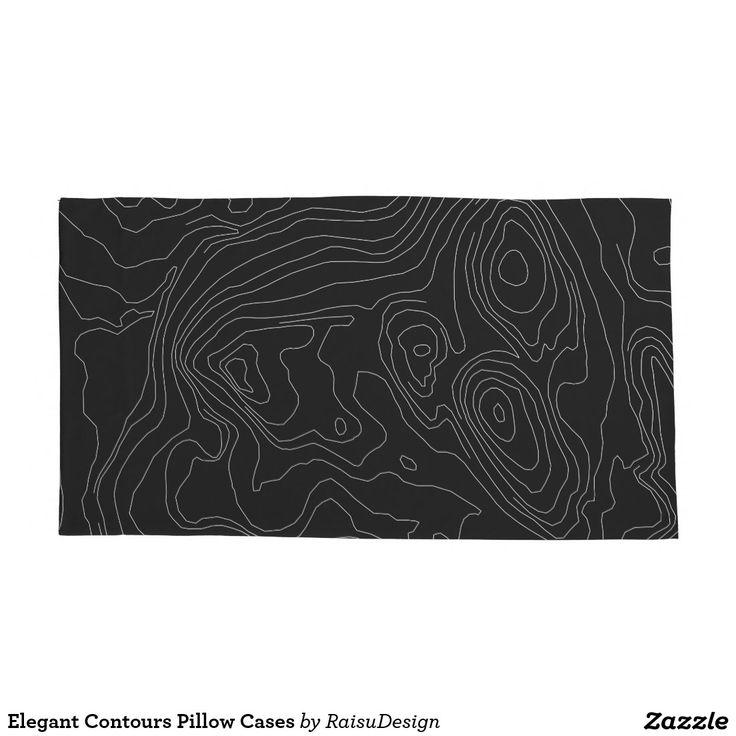 Elegant Contours Pillow Cases