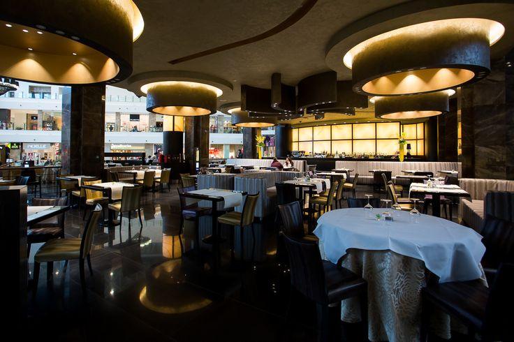 From Armani Caffe, Dubai Mall, to La Cupola Ristorante, Palas Mall, Iasi.