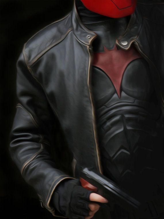Red Hood Jason Todd Poster by FrozenScalesShop on Etsy, $20.00