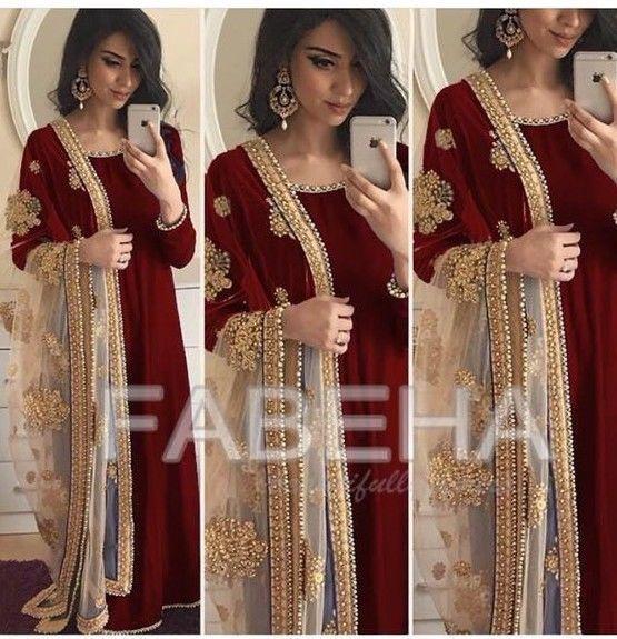 velvet anarkali kameez Indian salwar stone embroidery net dupatta long gown suit #Handmade #SalwarKameez #padmaavat #Mumbai #today #photooftheday #smile #happy #favorite #girl #instalove #instadaily #instafashion #photography