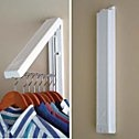 This goes GREAT in small laundry room or ironing area