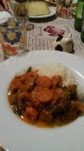 Senegal - MAFÈ  (Manzo stufato in salsa di arachidi)