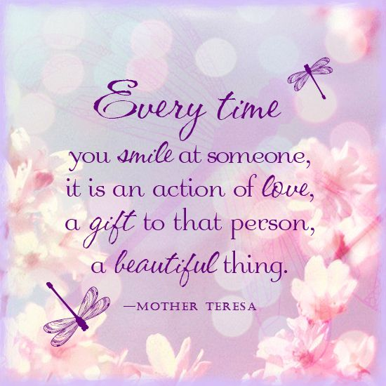 Good Morning Beautiful Mother : Mother teresa quote inspirational quotes pinterest