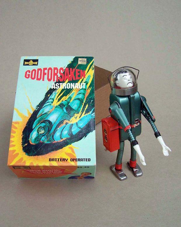 Godforsaken Astronaut by Rander Regier: Art Stuff, Randy Regier, Classic Toys, Godforsaken Astronaut, Art Toys, Godforsaken Astrozombi, Scifi Toys, Imaginary Vintage, Vintage Toys