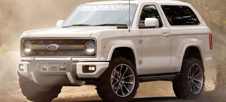 Even More Pics Of What The New Ford Bronco Could Maybe Hopefully Look Like