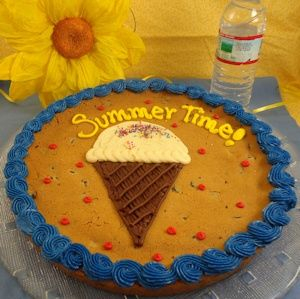Summer Sweets Personalized Cookie Cake $33