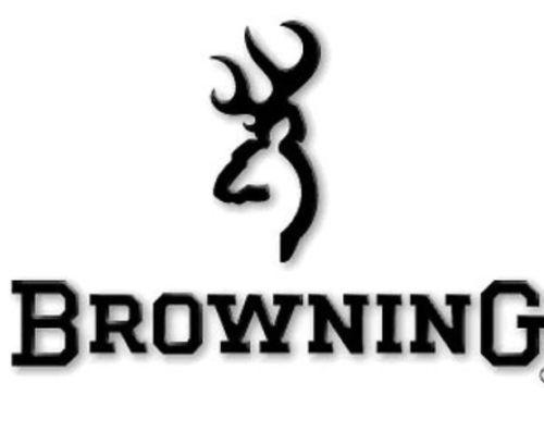 Browning black car truck vinyl window decal stickerhuntinghunter buck 6x11
