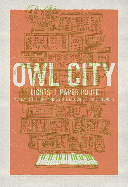 """Owl City at The Fillmore - """"Synthesizer""""  by withayou, via Flickr"""