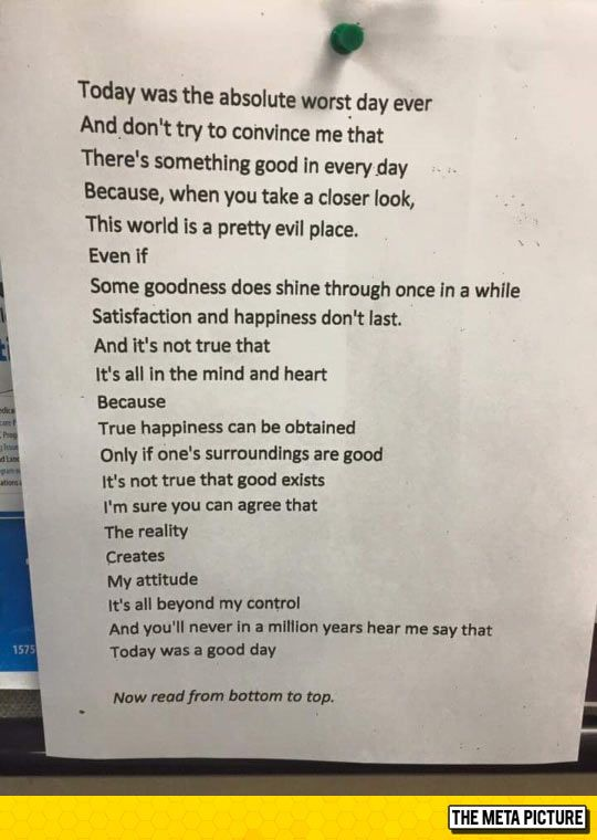 A Poem With Surprisingly Inspirational Message Made An Impact On One London Bar Patron Who Then Helped It Go Viral And Later Turned Out To Be The