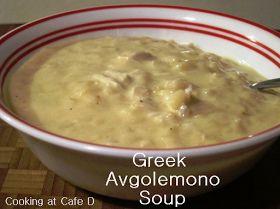 easy avgolemono greek egg lemon soup recipe