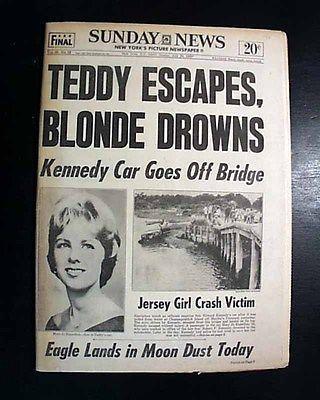 Senator Ted Kennedy--1969 Life Magazine--Chappaquiddick