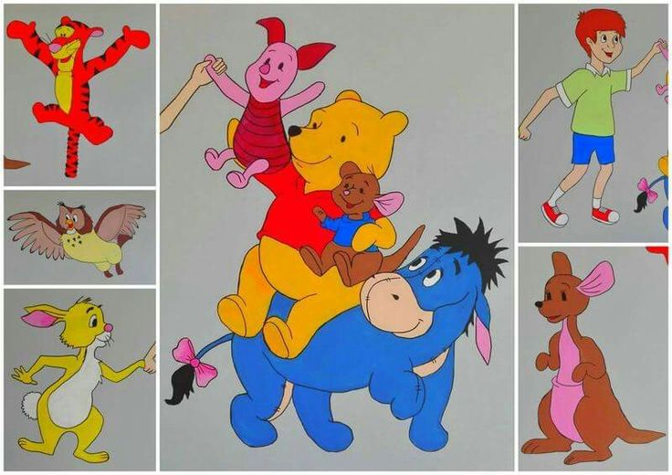 winnie the pooh# disney # painted wall # balbina
