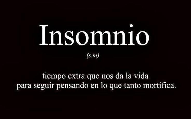 Insomnio ...