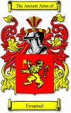 Emanuel Coat of Arms / Emanuel Family Crest