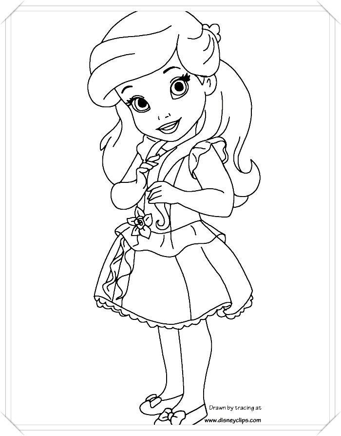 250 Dibujos De Princesas Para Colorear Dale Color A Tu Favorita