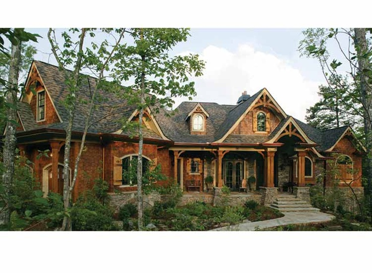 House plans homepw75286 style craftsman size 2 619 sq for Mountain craftsman style house plans