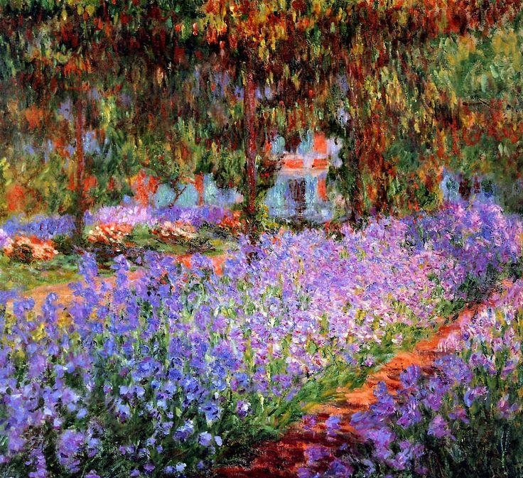 Monet-Claude-The-artists-garden-Sun-2.jpg (1155×1057)