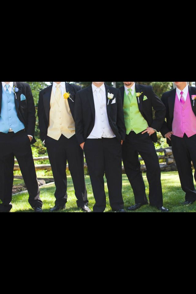Groomsmen #coulourful #wedding