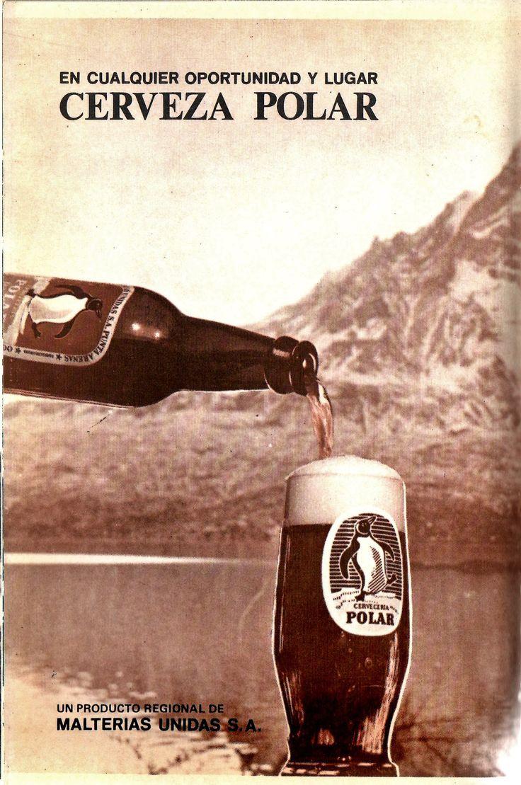 En cualquier oportunidad y lugar: Cerveza Polar. Un producto regional de Malterias Unidas S.A. Pubilcado en: Magallanes 71 Guia Turistica