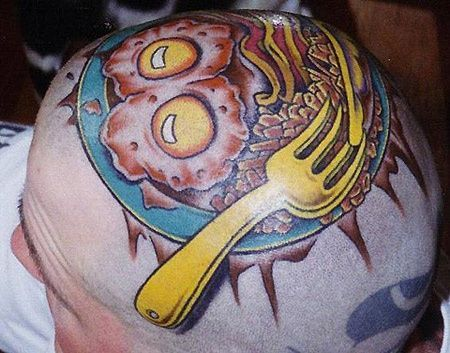 Tattoo Eggs and Bacon