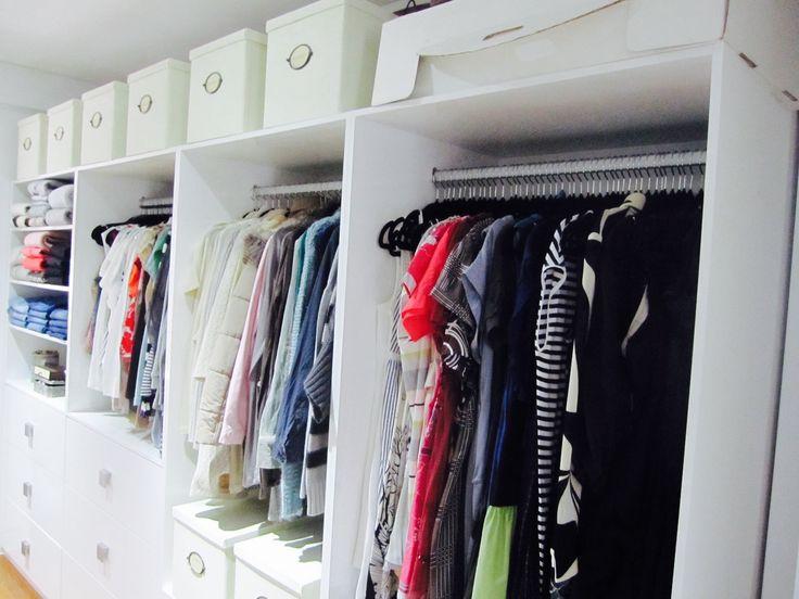 Female closet wardrobe, Organised & Styled by us. #inthecloset_styling #wardrobeorganising  #closetstyling #interiordecoration