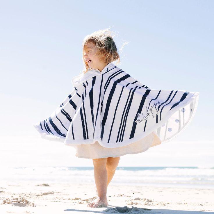 the beach people - Nautic Petite Poncho