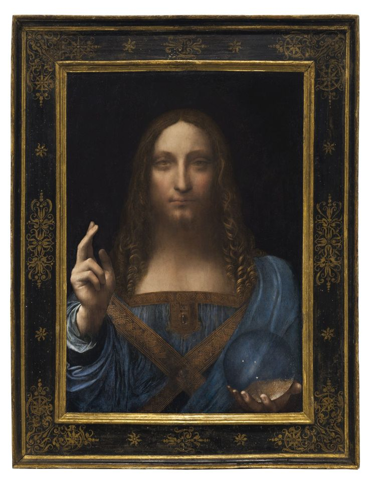 Leonardo da Vinci's last known painting in private hands, Salvator Mundi, was guaranteed to sell for at least $100 million.
