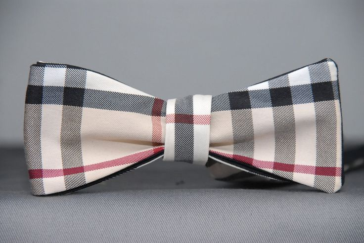 Authentic Burberry Of London Bow Tie Tan Pull Bows
