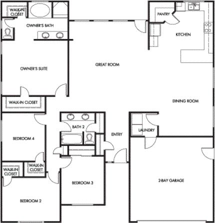 Radcliffe Plan 206 This Open Plan At 2 000 Is
