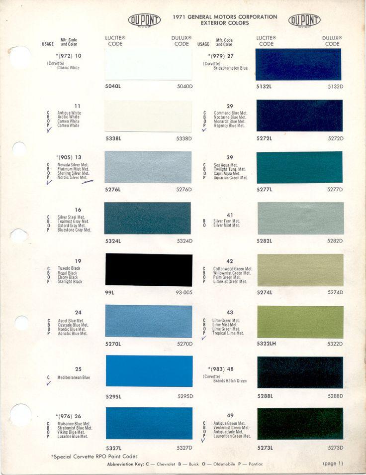 108 best auto paint colors | codes images on pinterest | auto