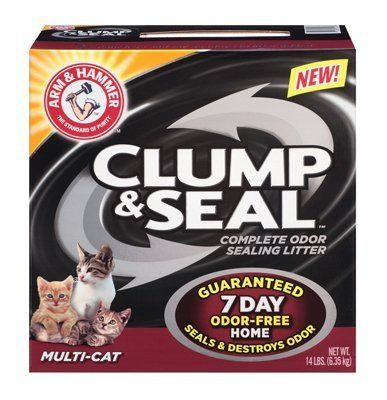 Arm  Hammer MultiCat Clump  Seal Clumping LitterSuper Pack258Pounds by Arm  Hammer *** Want additional info? Click on the image.