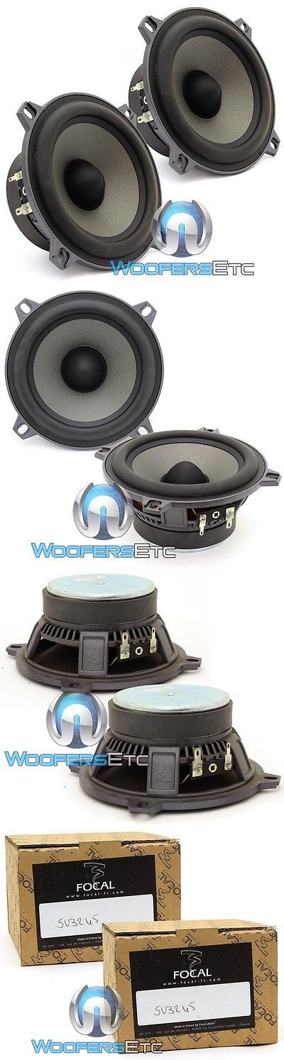 Audio Video Remotes: 5V3245 - Focal 13Cm 60W Rms Polyglass Car Audio Midrange Speakers. Delivery Is F BUY IT NOW ONLY: $47.96