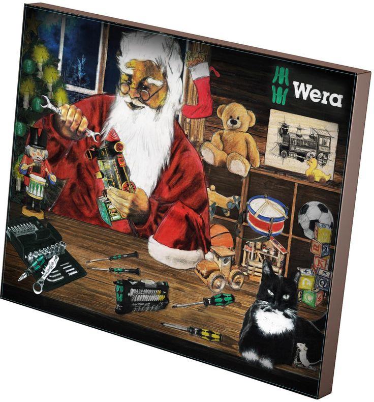Wera Werkzeug Adventskalender bei Amazon 54,95€