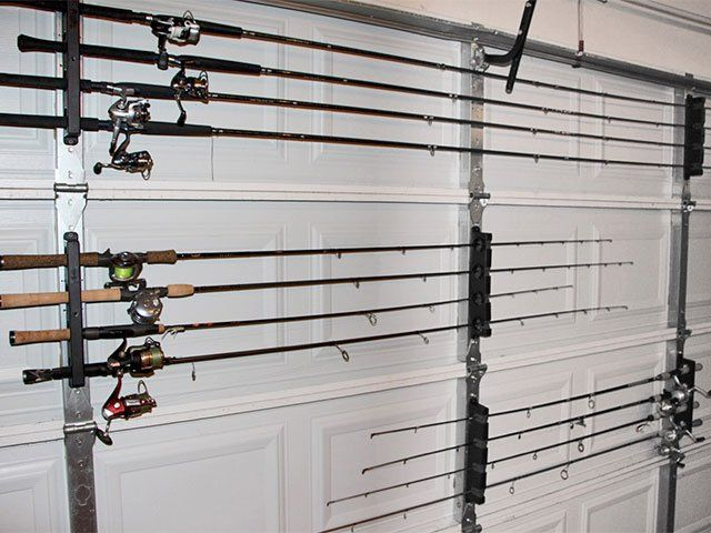 Garage Door Fishing Rod Holder Http Undhimmi Com