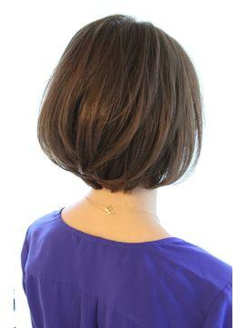 30代40代に人気黒髪でも可愛く決まる美シルエットボブ - 24時間いつでもWEB予約OK!ヘアスタイル10万点以上掲載!お気に入りの髪型、人気のヘアスタイルを探すならKirei Style[キレイスタイル]で。