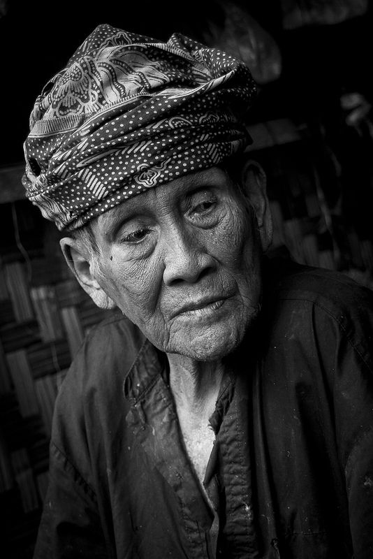 Baduy Tribe Village by Chris Tuarissa