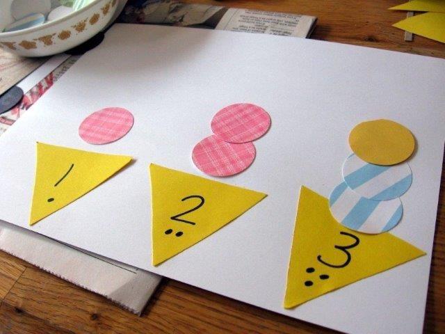 40 Manualidades Para Trabajar Con Números Educacií Actividades De Arte Para Preescolares Juegos De Matemáticas Preescolares Actividades Para Niños Preescolar